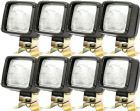 *Pack OF 8* Work Lamp H3 12V Square